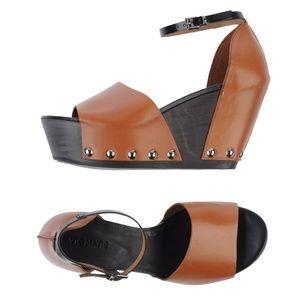 13bbe54de48 Vic Matié Ankle Strap Platform Sandals